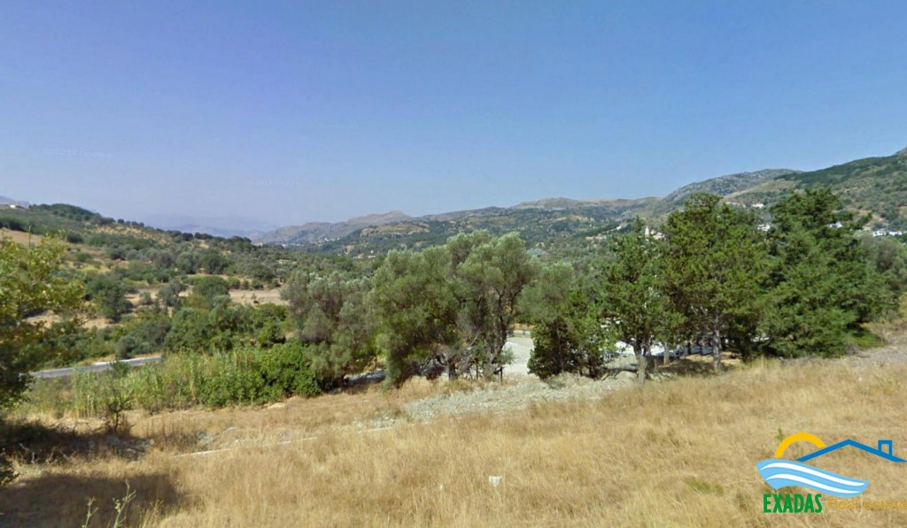 Building plot of 1.234 sq.m with nice views for sale In Spili Rethymnon Crete