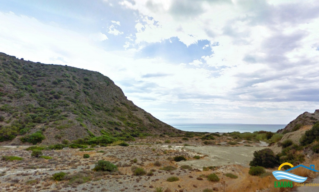 Buy now and get an amazing  offer!  Beach - side plot  at the unspoiled area of Triopetra.