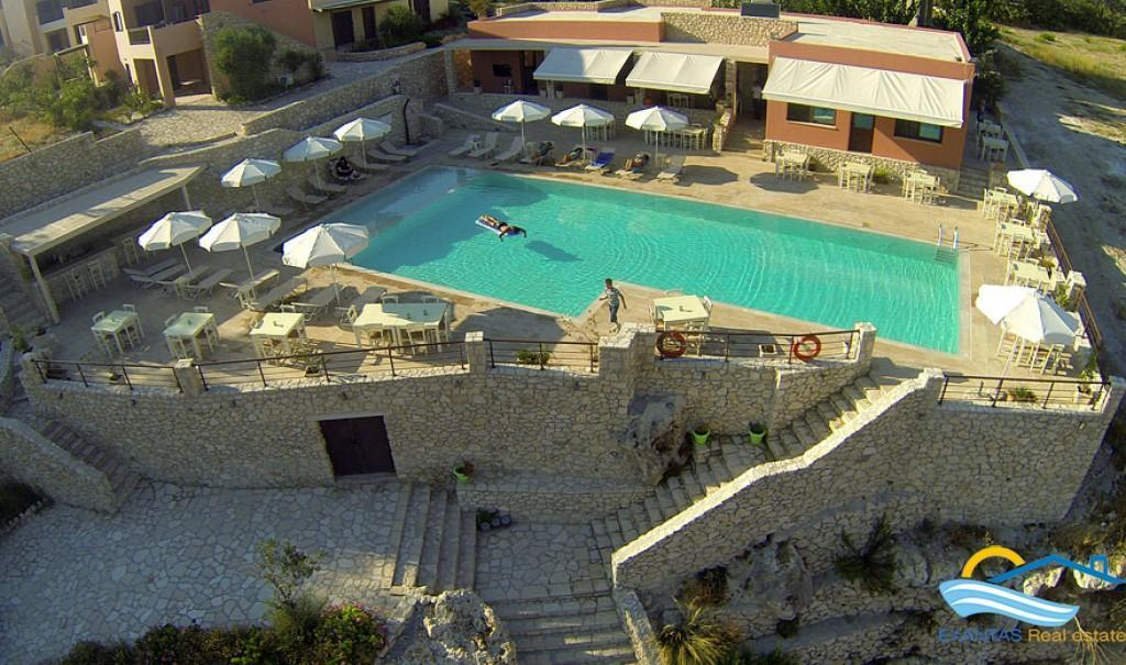 Bussiness property for sale consisting of amazing view restaurant, bar, swim. pool, shops & offices