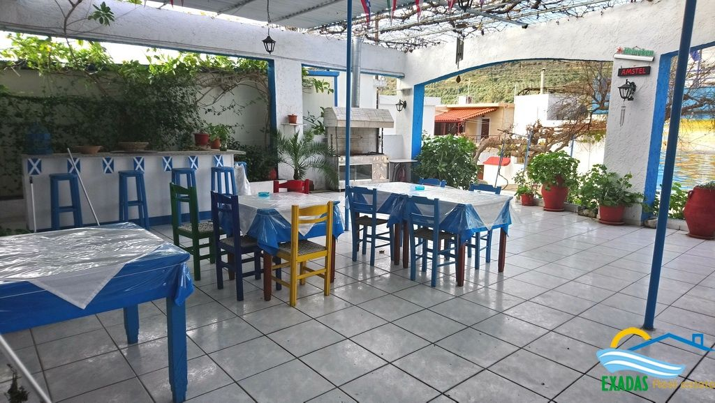 A Taverna business suitable also for a house locating in the square of village near beach and cities