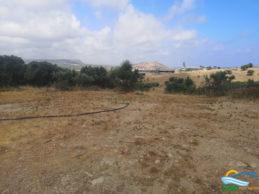 Plot of land 4.019 sqm with excellent views, in Panormo Rethymno