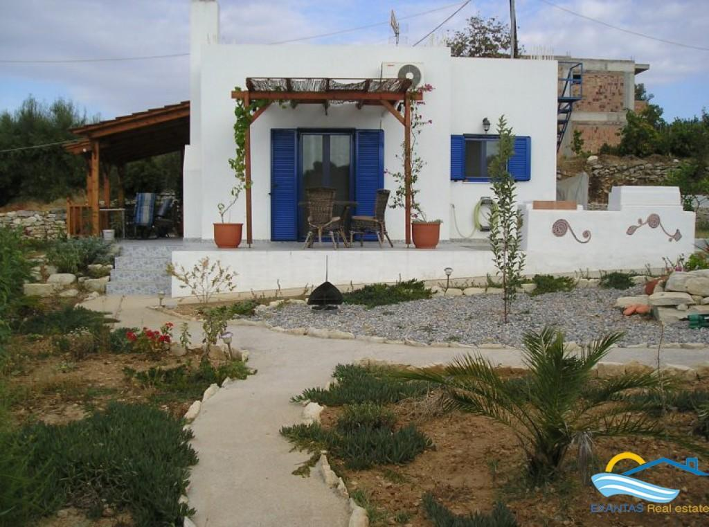A beautiful house with nice views in a quiet traditional village
