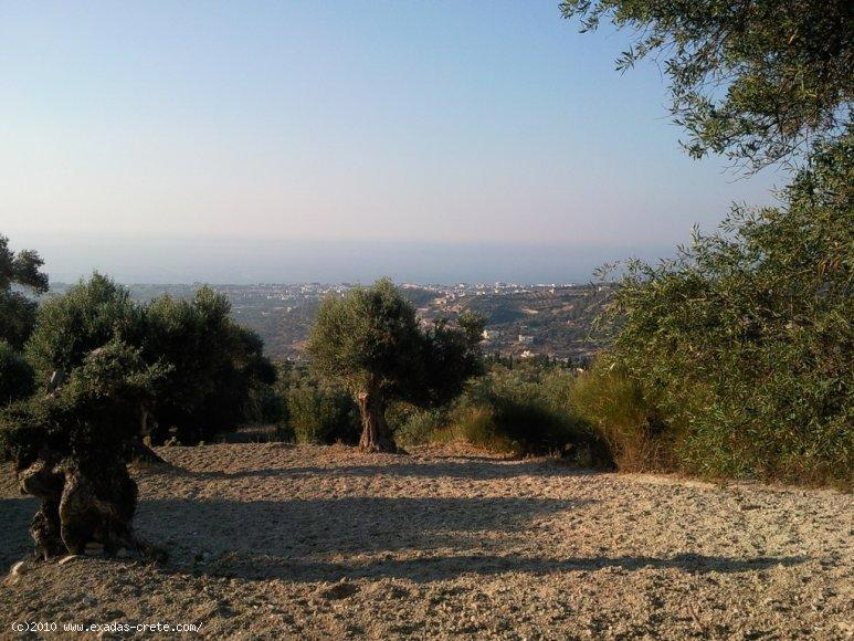 Excellent located plot of land providing great Sea views and already taken licenses for 2 villas