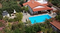 Villa in great condition offering 3 brs, pool, garden and Sea view located in Roumeli
