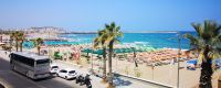 Seafront 1st floor property of 122 sq.m with parking for sale in Rethymnon