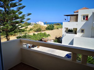 Greatly located house of 2 brs, only 100 mrs from the beach & 15 kms from Rethymno  powered by solar