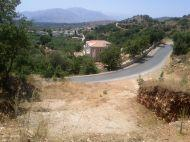 Excellent View plots ready to be built, 12 kms from Rethymnon city at sizes 500 sq.m - 2.000 sq.m