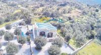 Stone built villa of 2 b/rs in a quiet traditional village with nice views, close to the beach.